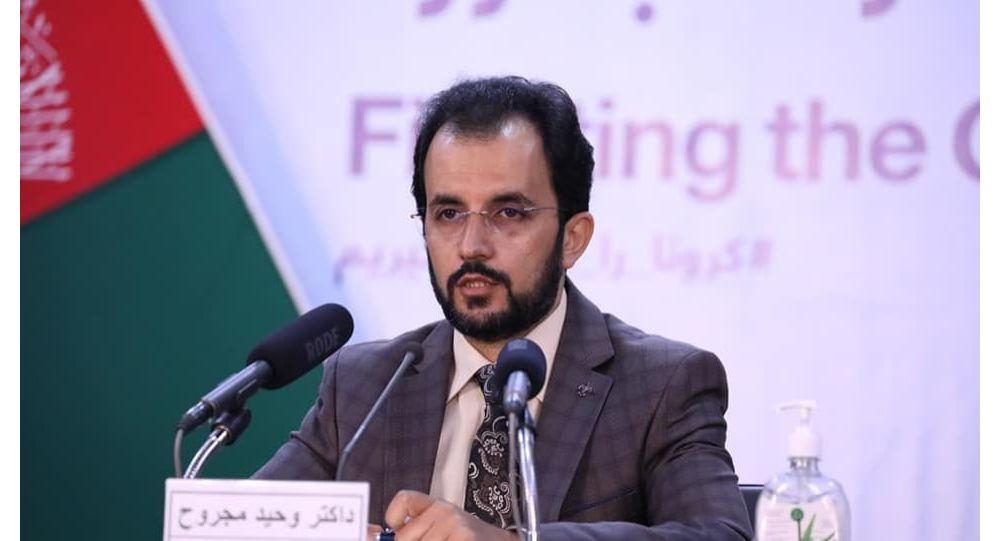 وحید مجروح: د کرونا د مخنیوي لپاره ۴۵۰۰ بالونه اکسیجن له ایران اخیستل شوی