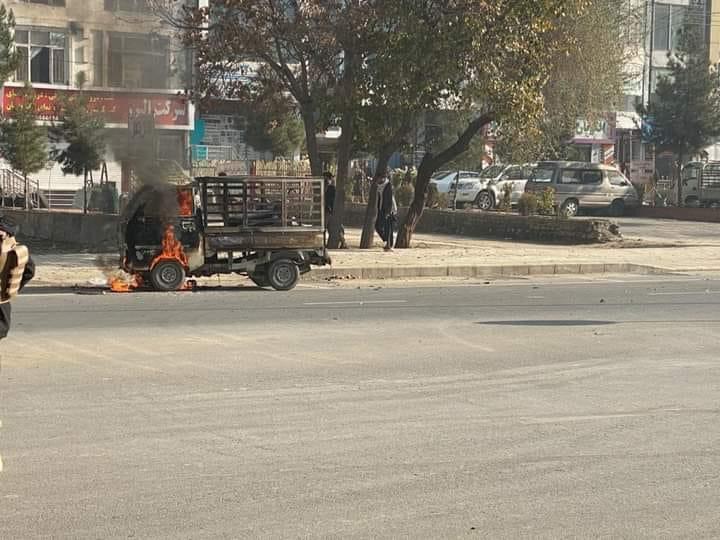 اهداف راکت زنی امروز شهر کابل
