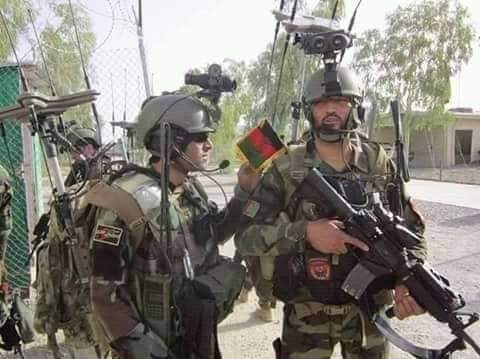 افغان ځواکونو د پاکستاني تاسیساتو مخنیوی کړی.