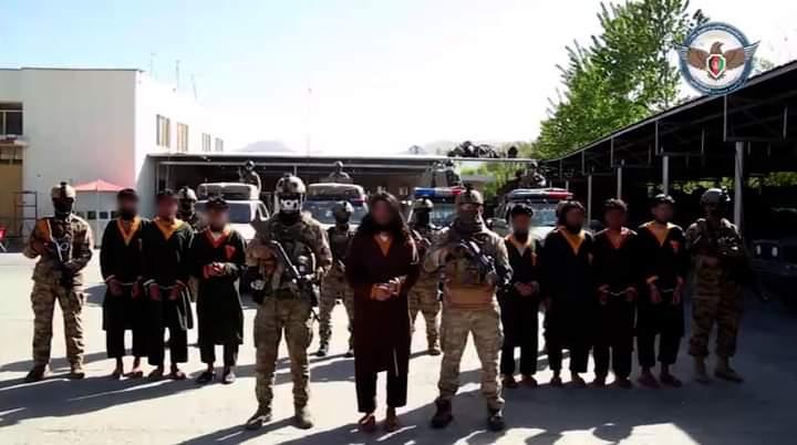 د ملي امنیت عمومي ریاست: کابل کې یې د طالبانو د ترور یوه ډله ونیوله.