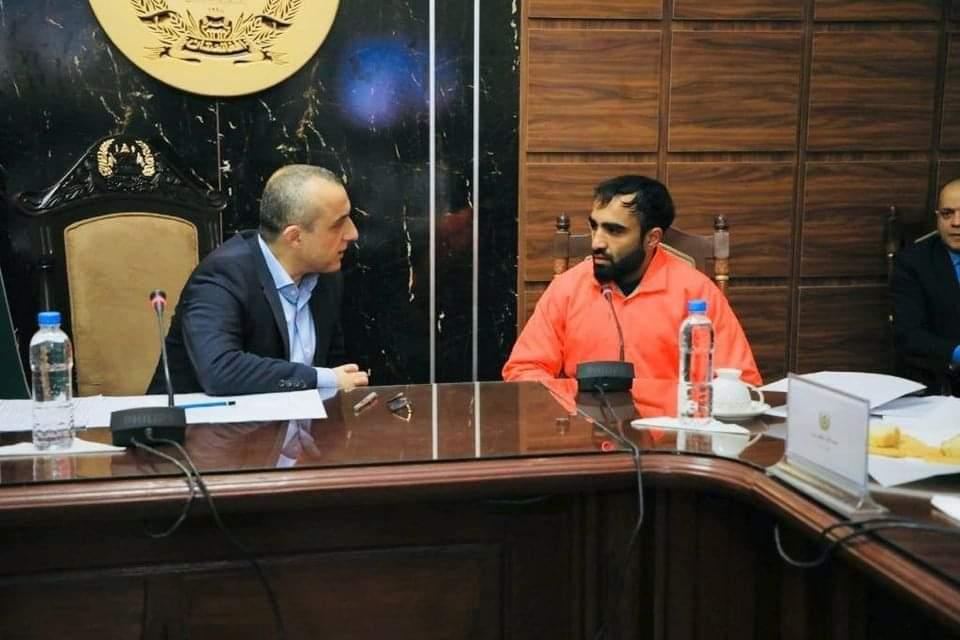 امرالله صالح ( معاون نخست ریاست جمهوری)
