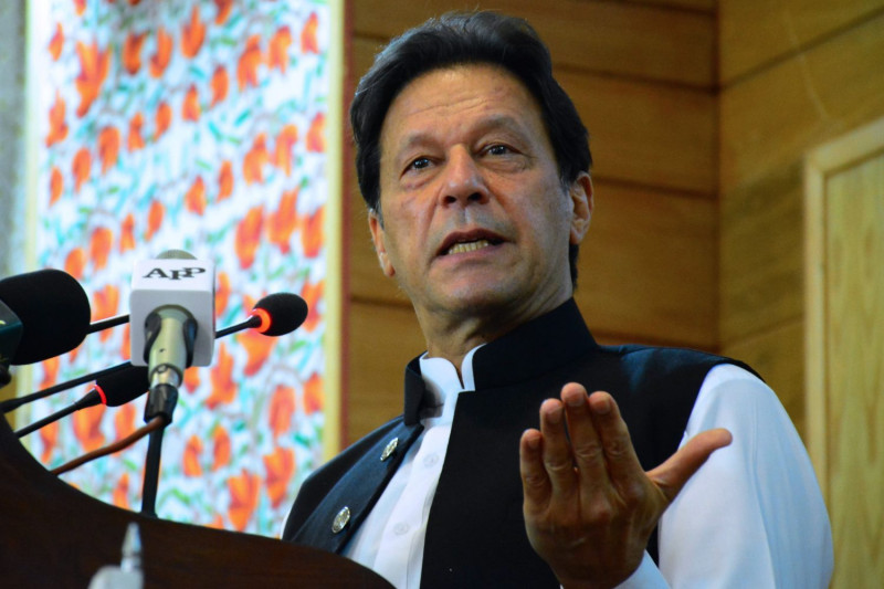 د پاکستان لومړی وزیر عمران خان